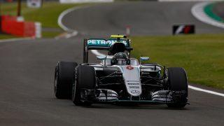 Motorsports: FIA Formula One World Championship 2016, Grand Prix of Great Britain,  #6 Nico Rosberg (GER, Mercedes AMG Petronas Formula One Team), | Verwendung weltweit