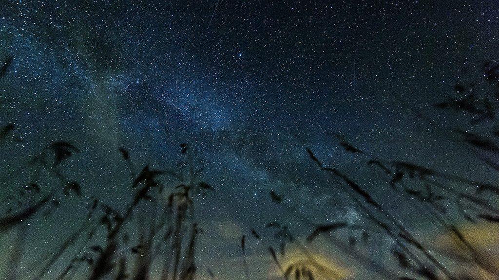 Balmazújváros, 2015. július 13.A Tejút fényes sávja látható a Hortobágy feletti égbolton Balmazújváros térségéből fotózva 2015. július 12-én este.MTI Fotó: Czeglédi Zsolt