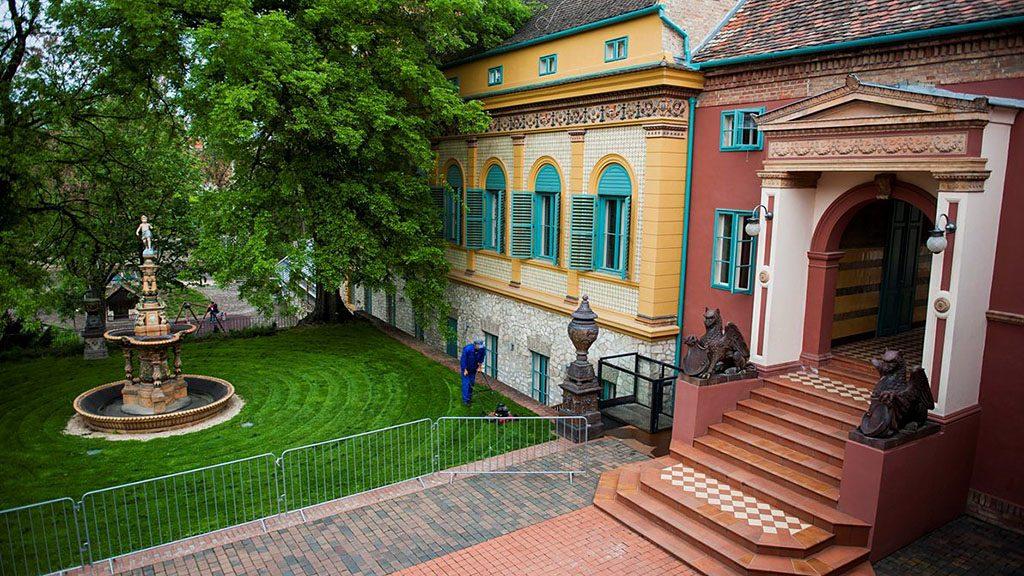 A pécsi Zsolnay Kulturális Negyed