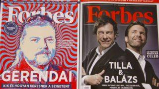 Forbes címlapok