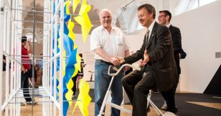 Bringológia címmel megnyílt az Iparművészeti Múzeum kerékpáros kiállítása