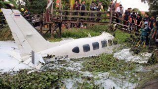 Repülőgép-baleset Thaiföldön