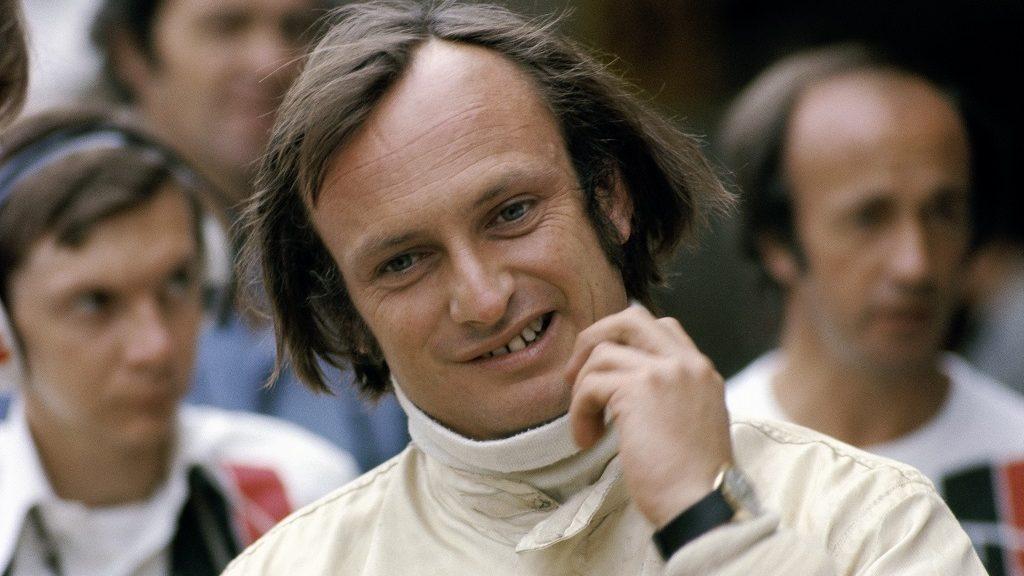 Chris Amon, Austrian Grand Prix, Zeltweg 1975, Zeltweg, Austria, 17 August 1975. (Photo by Rainer W. Schlegelmilch/Getty Images)