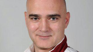 Budapest, 2012. július 3. Ifjabb Knézy Jenõ kommentátor, a londoni nyári olimpiai játékokra utazó magyar csapat tagja. MTI Fotó: Kovács Tamás