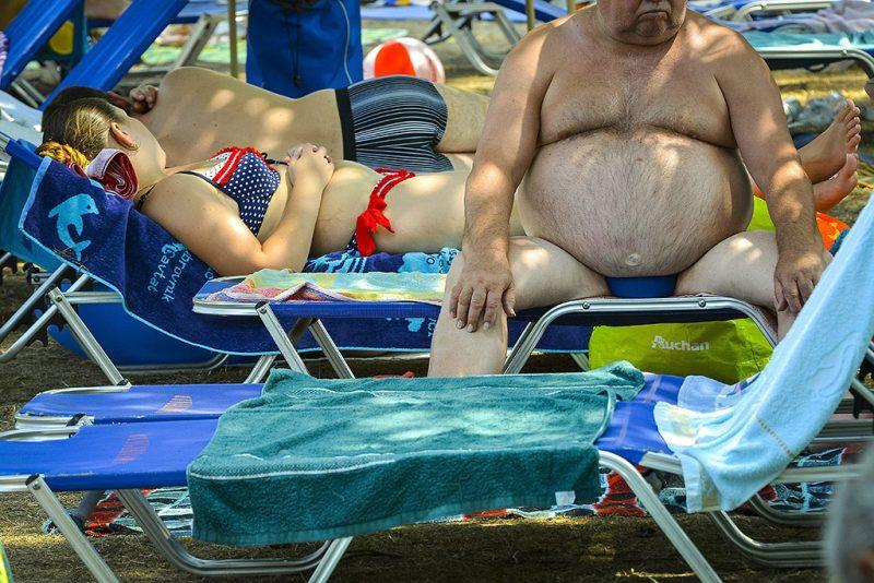 Hajdúszoboszló, 2015. július 18.Fürdővendégek a hajdúszoboszlói strandon 2015. július 18-án.MTI Fotó: Czeglédi Zsolt