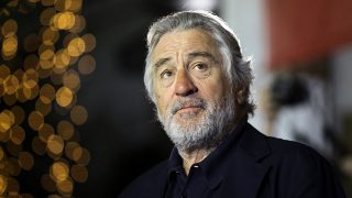 SARAJEVO, BOSNIA AND HERZEGOVINA - AUGUST 12: US actor Robert De Niro attends the 22nd Sarajevo Film Festival as a honored guest, at National theatre in Sarajevo, Bosnia and Herzegovina on August 12, 2016.  Samir Yordamovic / Anadolu Agency