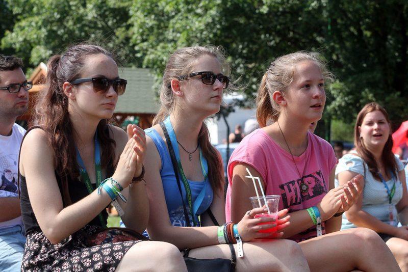 Mátrafüred, 2016. július 29.Résztvevők a 11. Szélrózsa Országos Evangélikus Ifjúsági Találkozón a mátrafüredi Mátra Kempingben 2016. július 29-én.MTI Fotó: Vajda János