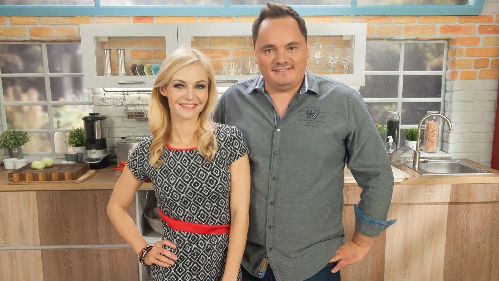 Márton Adrienn és Pataky Péter, a Chili TV képernyősei