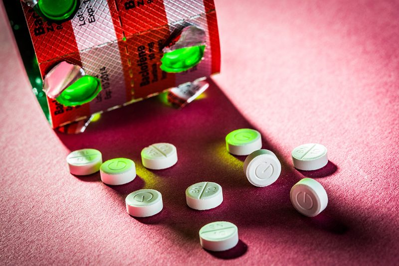 Zentiva ®, muscle relaxant drug (baclofen molecule) marketed by Sanofi Adventis ® laboratory. Paris, France GARO/PHANIE