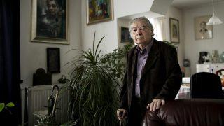 Üröm, 2013. január 29.A 2012-ben Kossuth-nagydíjjal kitüntetett Csoóri Sándor író ürömi otthonában 2013. január 29-én.MTI Fotó: Mohai Balázs