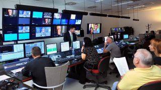 Az RTL Magyarország vezérlője MTI Fotó: Máthé Zoltán