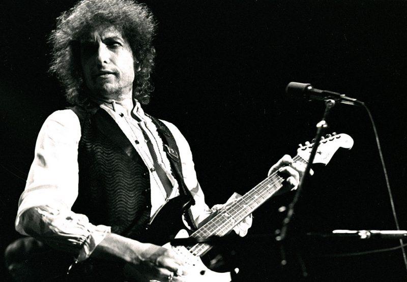 ATLANTA - December 6: Singer/Songwriter Bob Dylan performs at The Omni Coliseum December 6, 1978 in Atlanta Georgia.