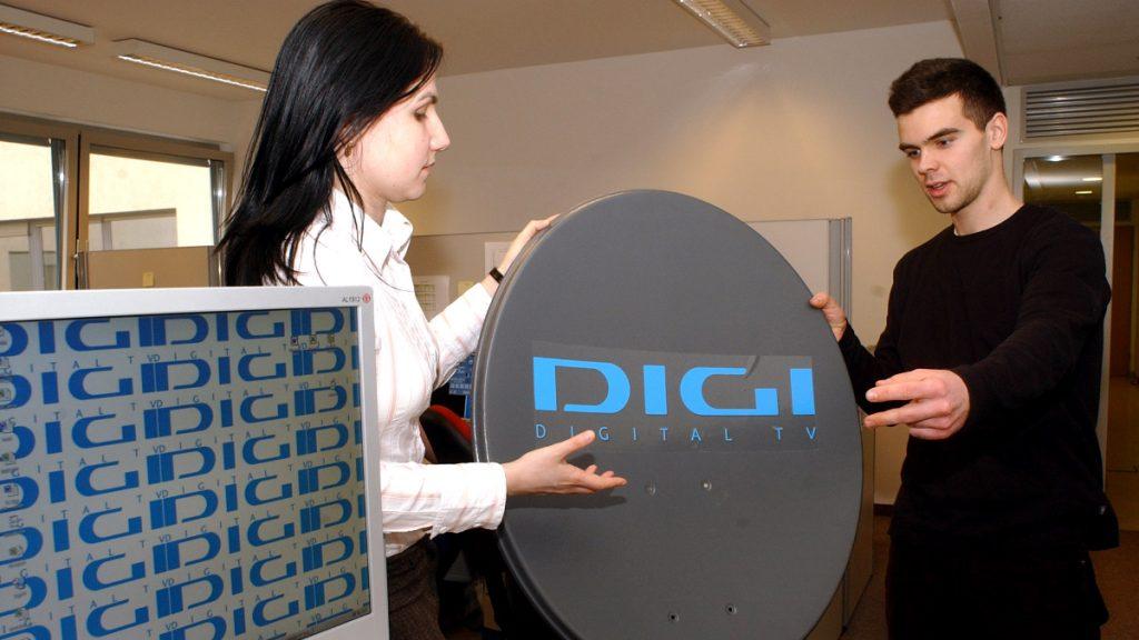 A DIGI műholdas antennája MTI Fotó: Balaton József