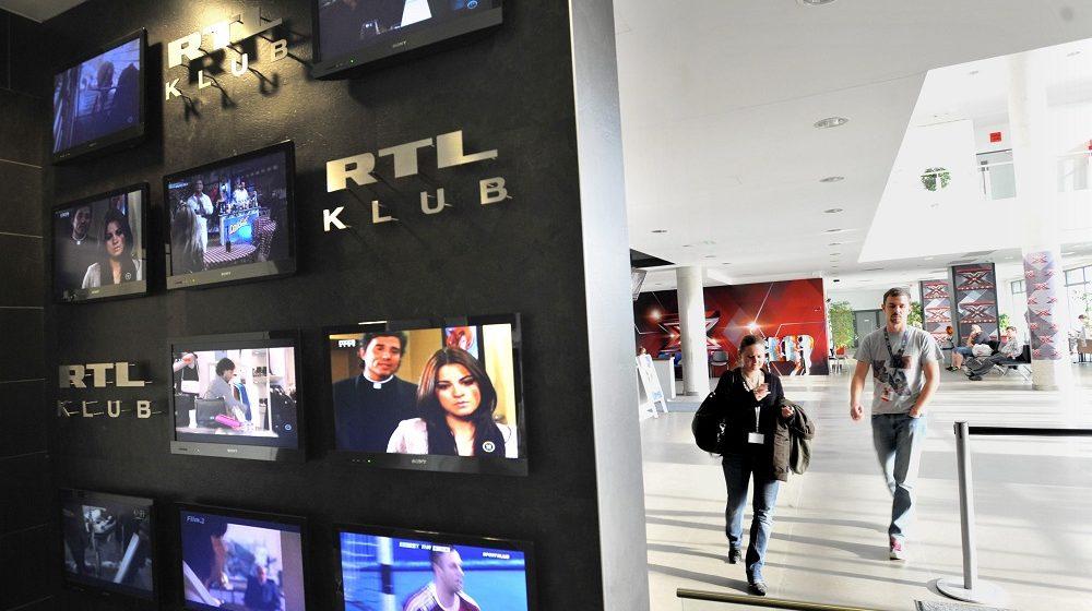 Budapest, 2012. október 4. Aula a Magyar RTL budatétényi székházában 2012. október 4-én, amelyben az RTL Klub és az RTL 2 televíziók mûködnek. MTI Fotó: Máthé Zoltán