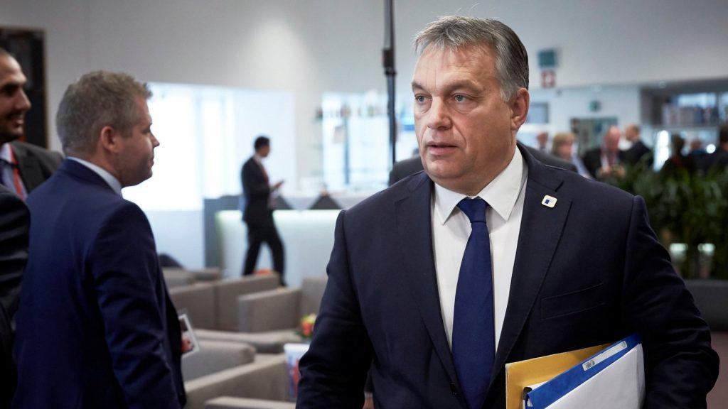 EU-csúcs Brüsszelben - Orbán Viktor