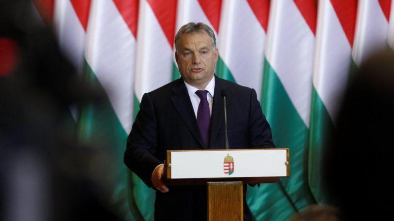 Kvótareferendum - Orbán Viktor és Kósa Lajos sajtótájékoztatója