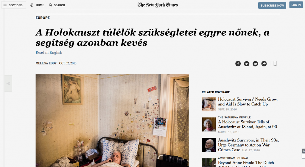 The New York Times magyarul
