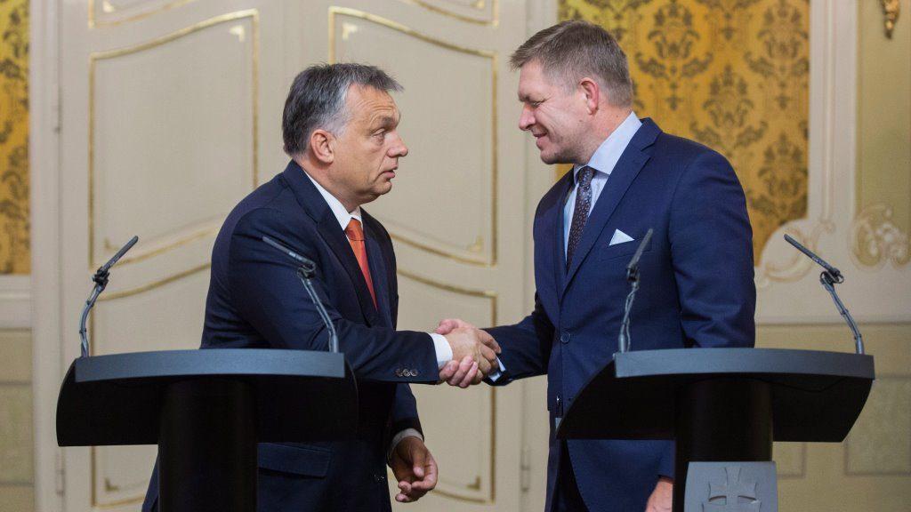Orbán Viktor Pozsonyban