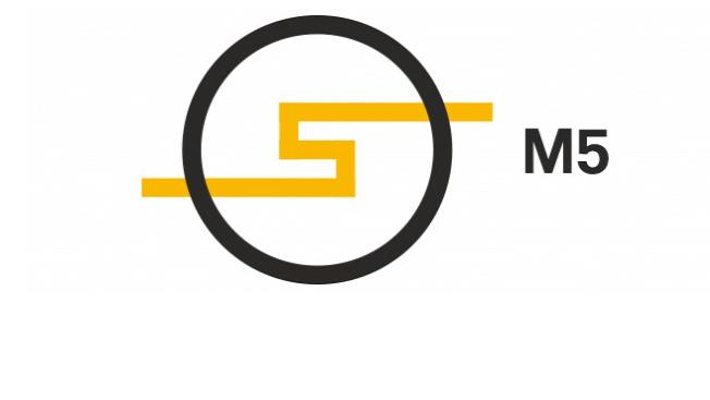 Az M5 logója