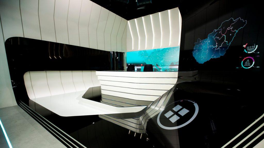 Az RTL új stúdiója