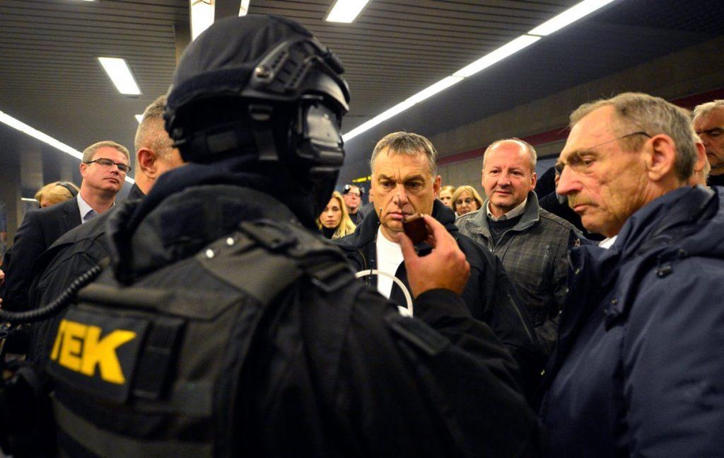 Terrorelhárítási gyakorlat Budapesten