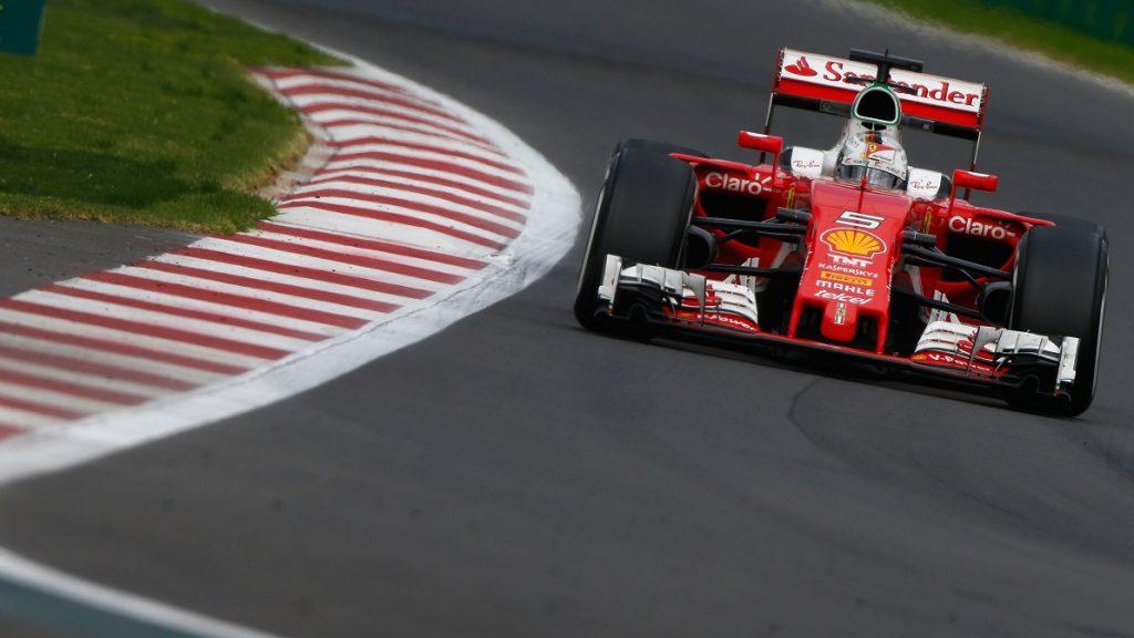 Motorsports: FIA Formula One World Championship 2016, Grand Prix of Mexico,  #5 Sebastian Vettel (GER, Scuderia Ferrari),