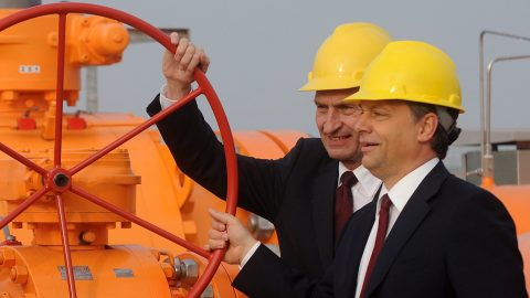 Energia - Átadták az Arad-Szeged földgázvezetéket
