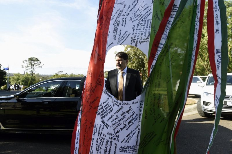 Melbourne, 2016. november 7. Áder János köztársasági elnök a wantirnai a Melbourne-i Magyar Központban tartott '56-os megemlékezésen 2016. november 7-én. MTI Fotó: Bruzák Noémi