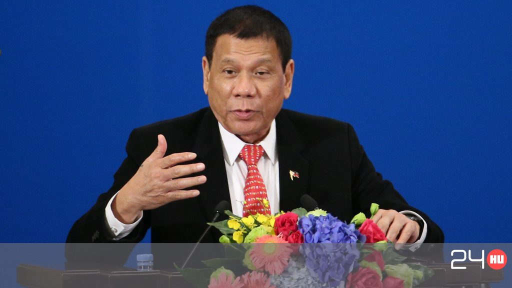 Vaginán lövetné katonáival a női felkelőket a filippínó elnök
