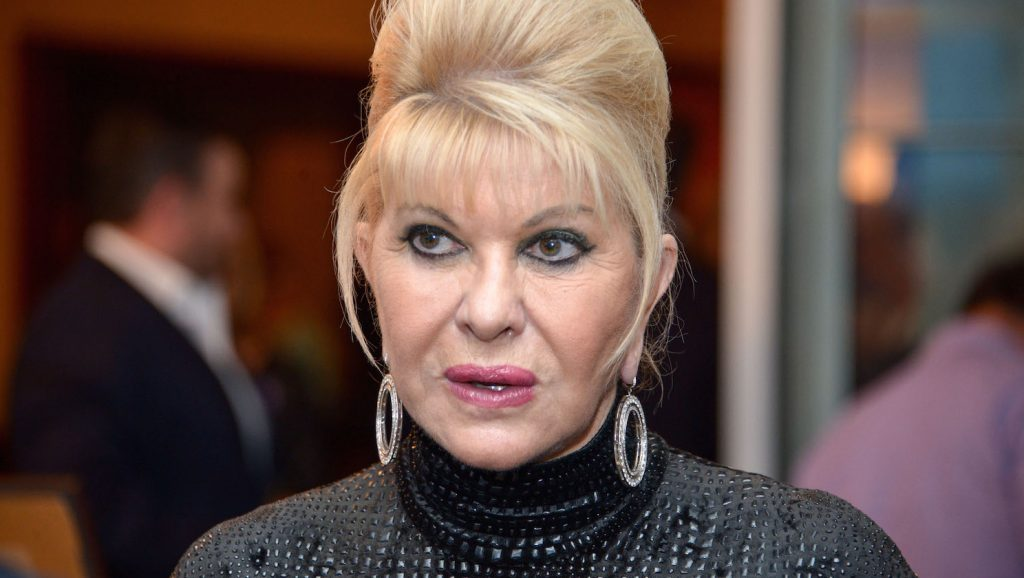 BRIARCLIFF MANOR, NY - SEPTEMBER 21: Ivana Trump attends the 9th Annual Eric Trump Foundation Golf Invitational Auction & Dinner at Trump National Golf Club Westchester on September 21, 2015 in Briarcliff Manor, New York.   Grant Lamos IV/Getty Images/AFP