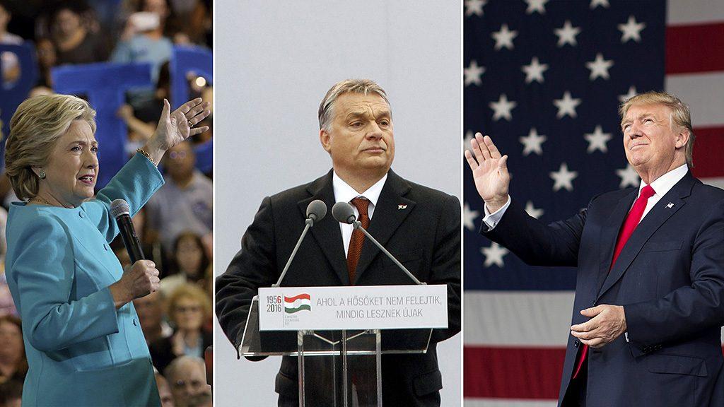 Budapest, 2016. október 23.Orbán Viktor miniszterelnök beszédet mond az 1956-os forradalom és szabadságharc 60. évfordulója alkalmából, 1956-2016 - A szabad Magyarországért! címmel tartott díszünnepségen az Országház előtti Kossuth Lajos téren 2016. október 23-án.MTI Fotó: Szigetváry Zsolt