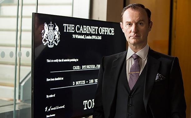 Sherlock, Season 4 premieres January 1, 2017 on MASTERPIECE onPBS.Picture shows: Mycroft Holmes (MARK GATISS)
