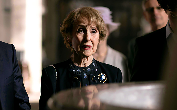 Sherlock, Season 4 premieres January 1, 2017 on MASTERPIECE onPBS.Picture shows: Mrs Hudson (UNA STUBBS)