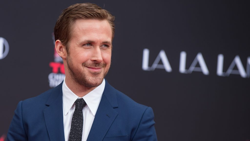 HOLLYWOOD, CA - DECEMBER 07: Actor Ryan Gosling attends 'Ryan Gosling and Emma Stone hand and footprint ceremony' at TCL Chinese Theatre IMAX on December 7, 2016 in Hollywood, California.   Emma McIntyre/Getty Images/AFP