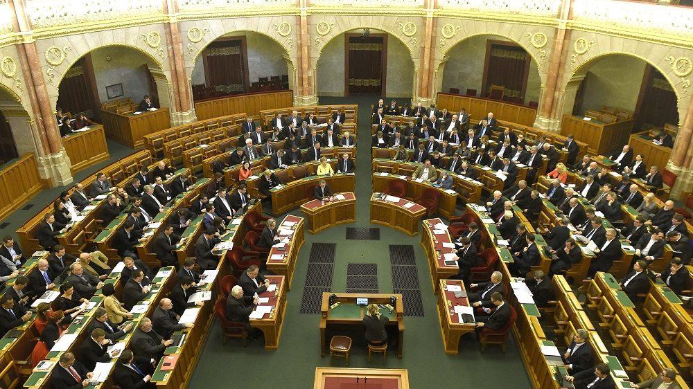 Budapest, 2016. december 6. Az Országgyûlés plenáris ülése 2016. december 6-án. MTI Fotó: Bruzák Noémi