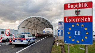 Illegális bevándorlás - Sátoralagút épült az osztrák-magyar határon Miklóshalmánál