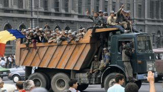 06/15/1990. Romanian miners invade Bucharest