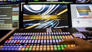 Budapest, 2014. március 17.A TV2 kereskedelmi televízió új, HD-technológiával működő, automatizált stúdióvezérlője a XIV. kerületi Róna utcai stúdióban 2014. március 17-én.MTI Fotó: Mohai Balázs