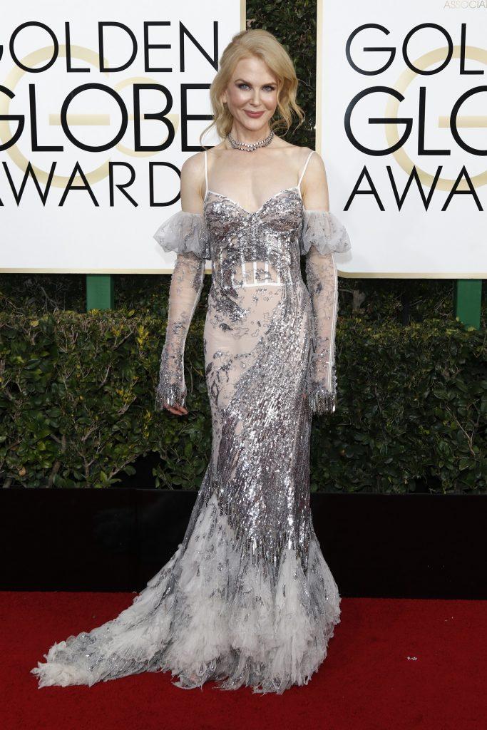 Nicole Kidman arrives at the 74th Annual Golden Globe Awards, Golden Globes, in Beverly Hills, Los Angeles, USA, on 08 January 2017. Photo: Hubert Boesl Photo: Hubert Boesl/