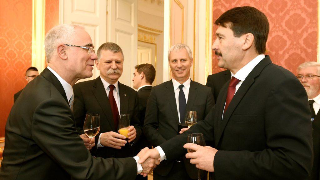 Áder János a magyarországi egyházak vezetőivel találkozott