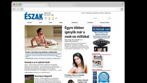 Észak Magyarország - Russmedia