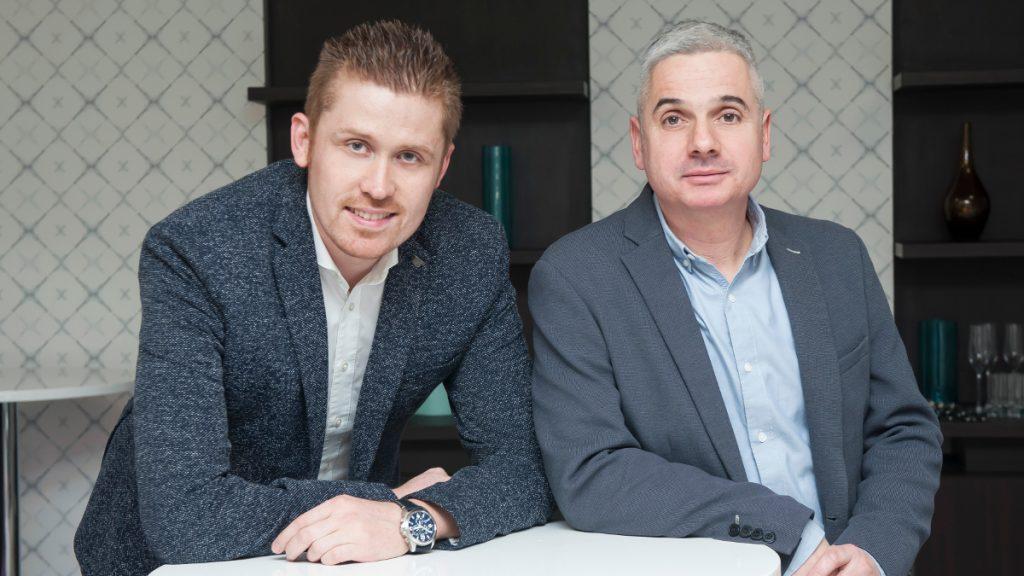 Ökrös Gergely és Fischer Gábor, a TV2 Média Csoport programigazgatói