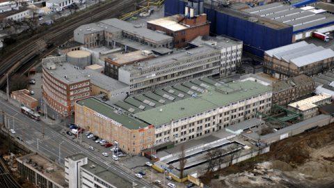 Budapest, 2007. január 4. A Michelin Gumigyár. MTI Fotó: H. Szabó Sándor