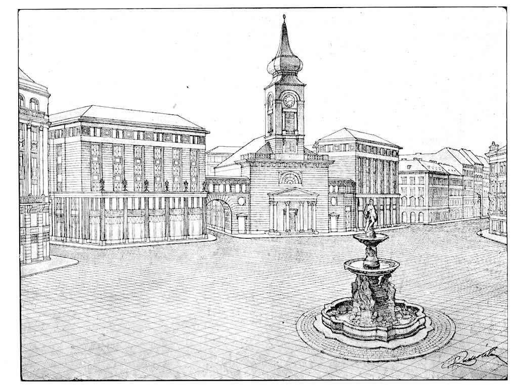 Hatvan éve még szürke irodaházakkal tömték volna tele a Kálvin teret 1