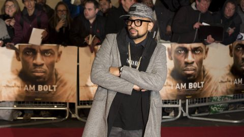 Sean Paul attends ?Äò I am Bolt ?Äô World Premiere at Leicester Square in London, England (28/11/2016). | Verwendung weltweit