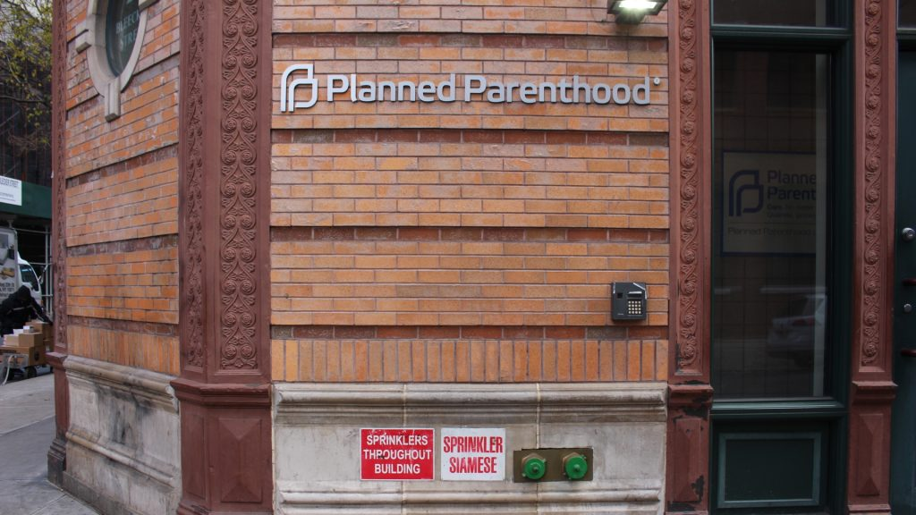 A clinic of Planned Parenthood in Manhattan, New York, US, 15 December 2016. Photo: Stephanie Ott/dpa