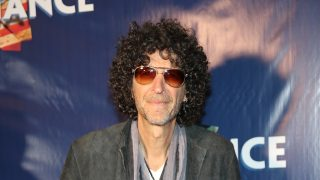 NEW YORK, NY - NOVEMBER 08: Howard Stern attends the 'Allegiance' Broadway opening night red carpet at The Longacre Theatre on November 8, 2015 in New York City.   Neilson Barnard/Getty Images/AFP