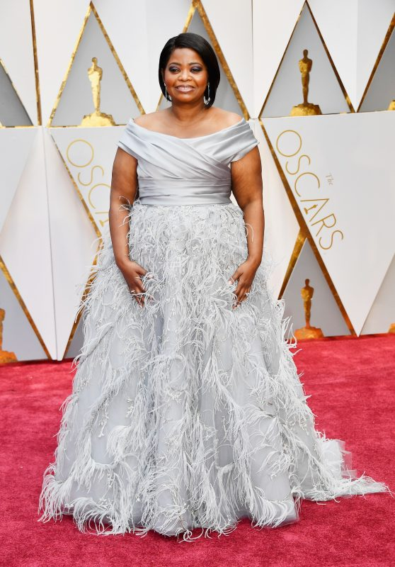 HOLLYWOOD, CA - FEBRUARY 26: Actor Octavia Spencer attends the 89th Annual Academy Awards at Hollywood & Highland Center on February 26, 2017 in Hollywood, California.   Frazer Harrison/Getty Images/AFP