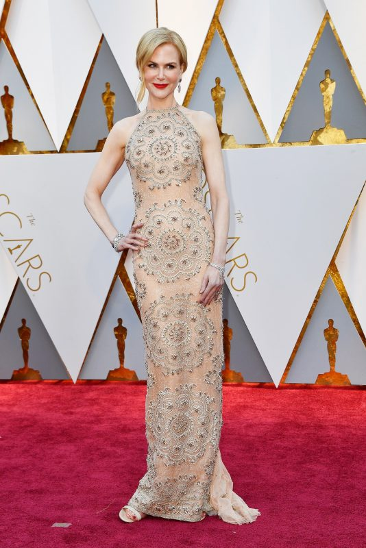 HOLLYWOOD, CA - FEBRUARY 26: Actor Nicole Kidman attends the 89th Annual Academy Awards at Hollywood & Highland Center on February 26, 2017 in Hollywood, California.   Frazer Harrison/Getty Images/AFP