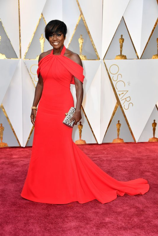 HOLLYWOOD, CA - FEBRUARY 26: Actor Viola Davis attends the 89th Annual Academy Awards at Hollywood & Highland Center on February 26, 2017 in Hollywood, California.   Frazer Harrison/Getty Images/AFP